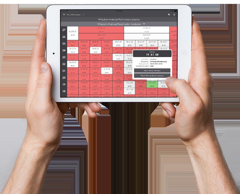 Booking management ipad app