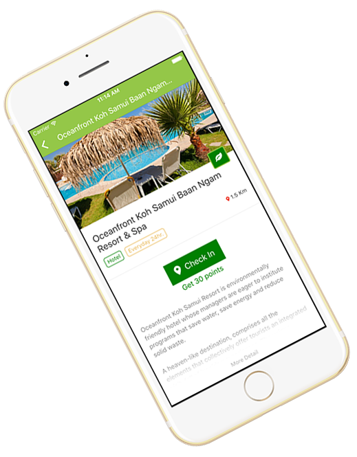 iPhone app for Samui Eco Point